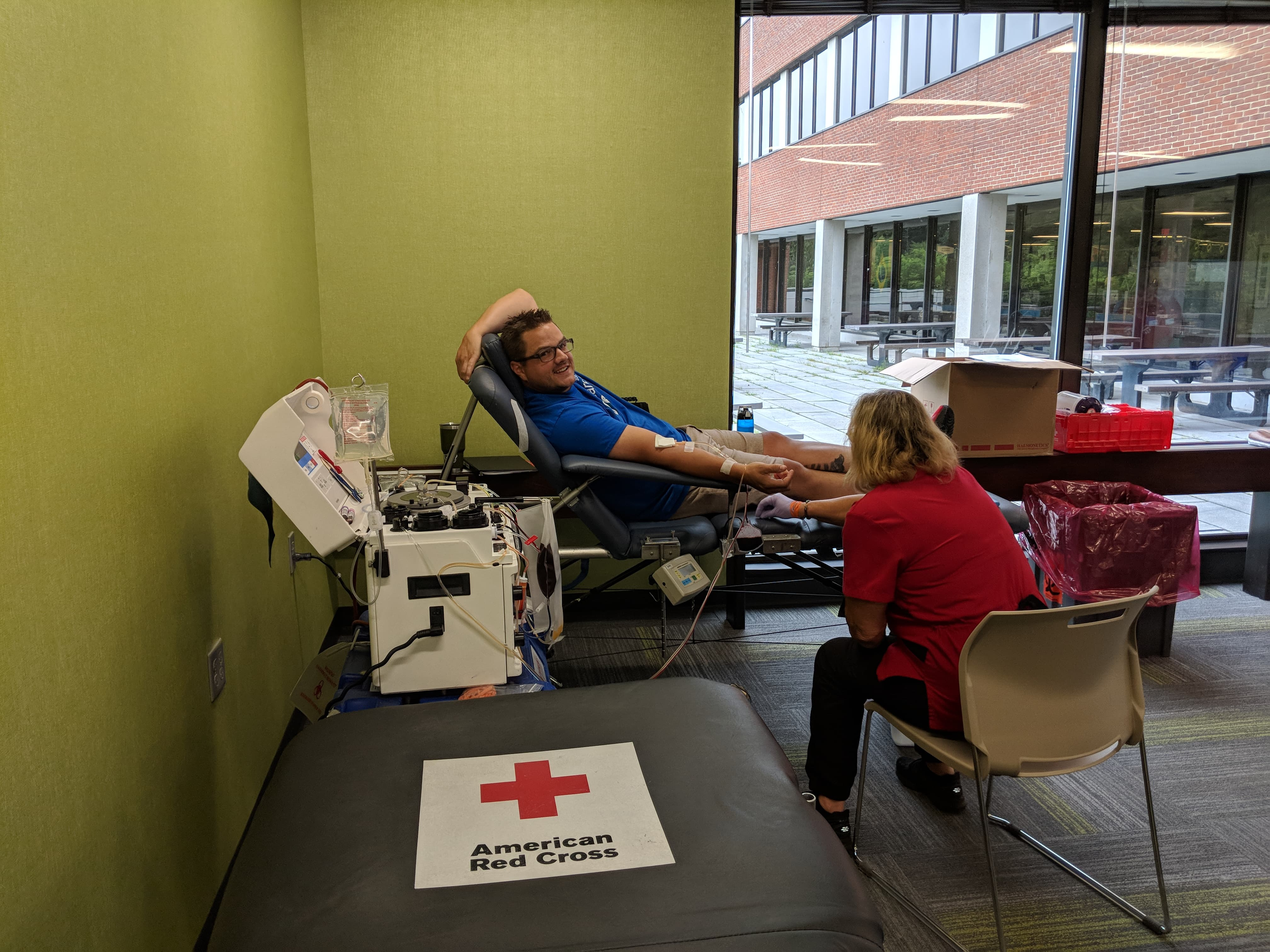 core medical group red cross workplace employee blood drive
