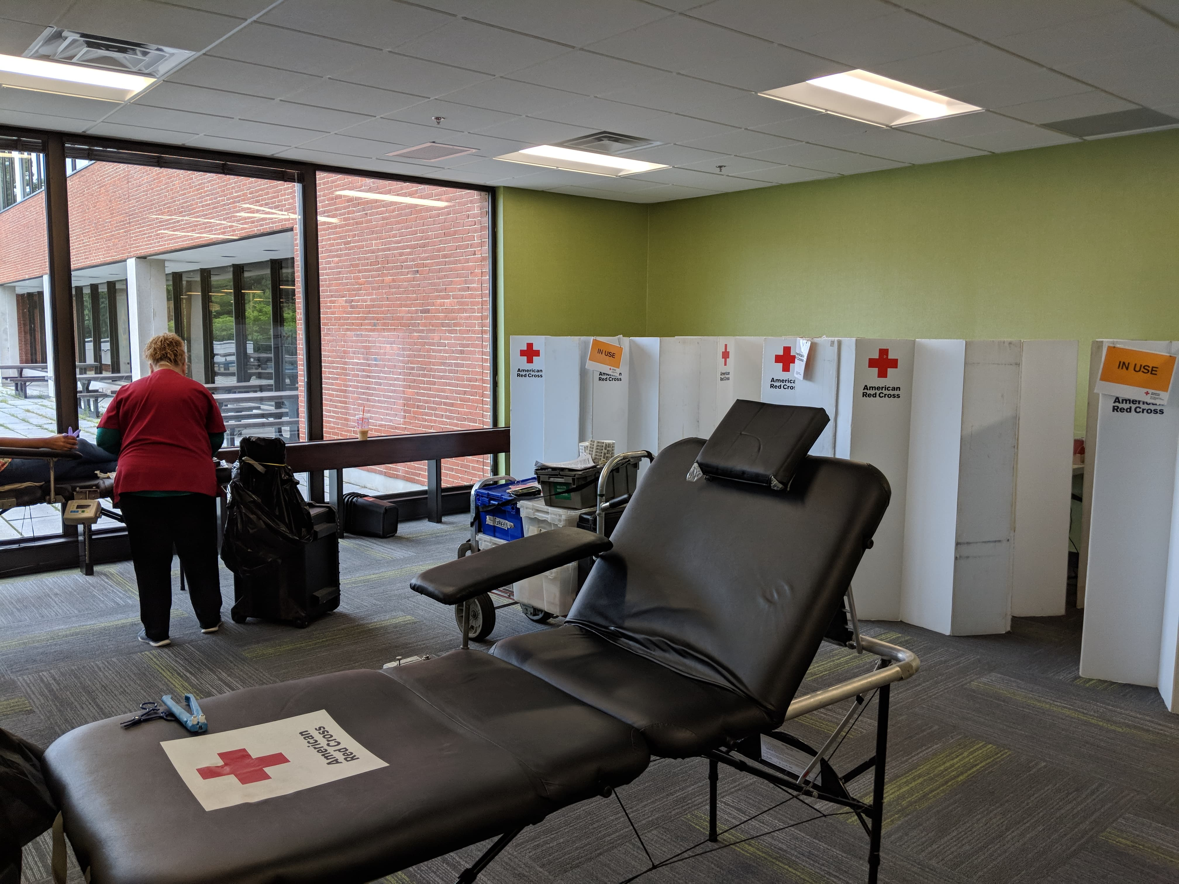 core medical group red cross employee blood drive workplace gives back