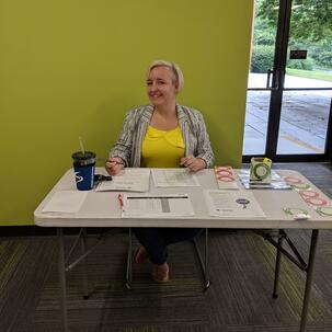 core medical group employee gives back volunteers