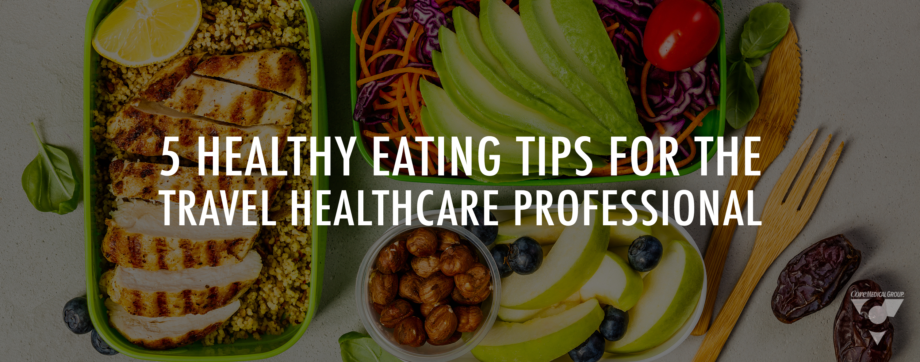 5 healthy eating tips for healthcare professionals
