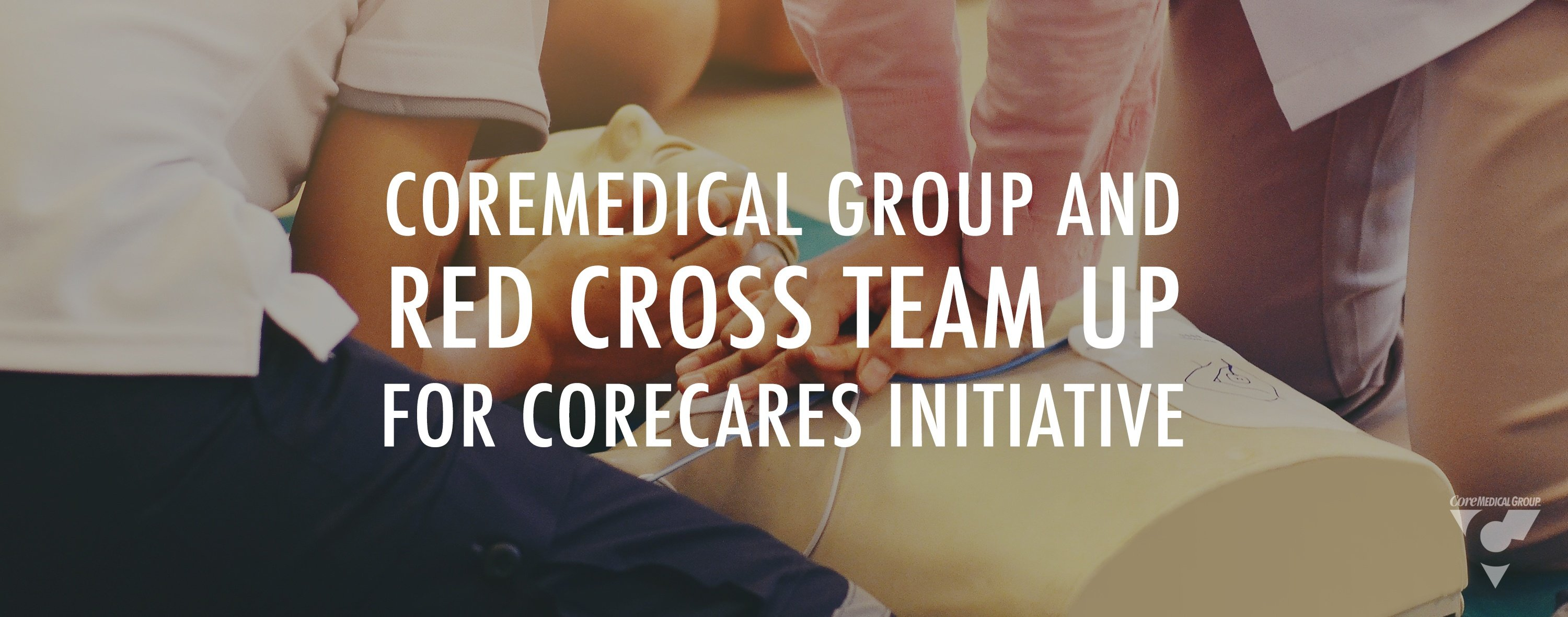 Core medical group and red cross team up for core care initiative employees giving back blood drive