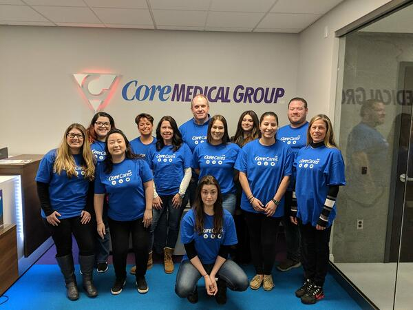 Core Medical Group Volunteer at Core Cares New Hampshire