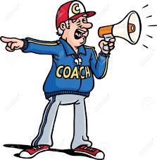Coach yelling