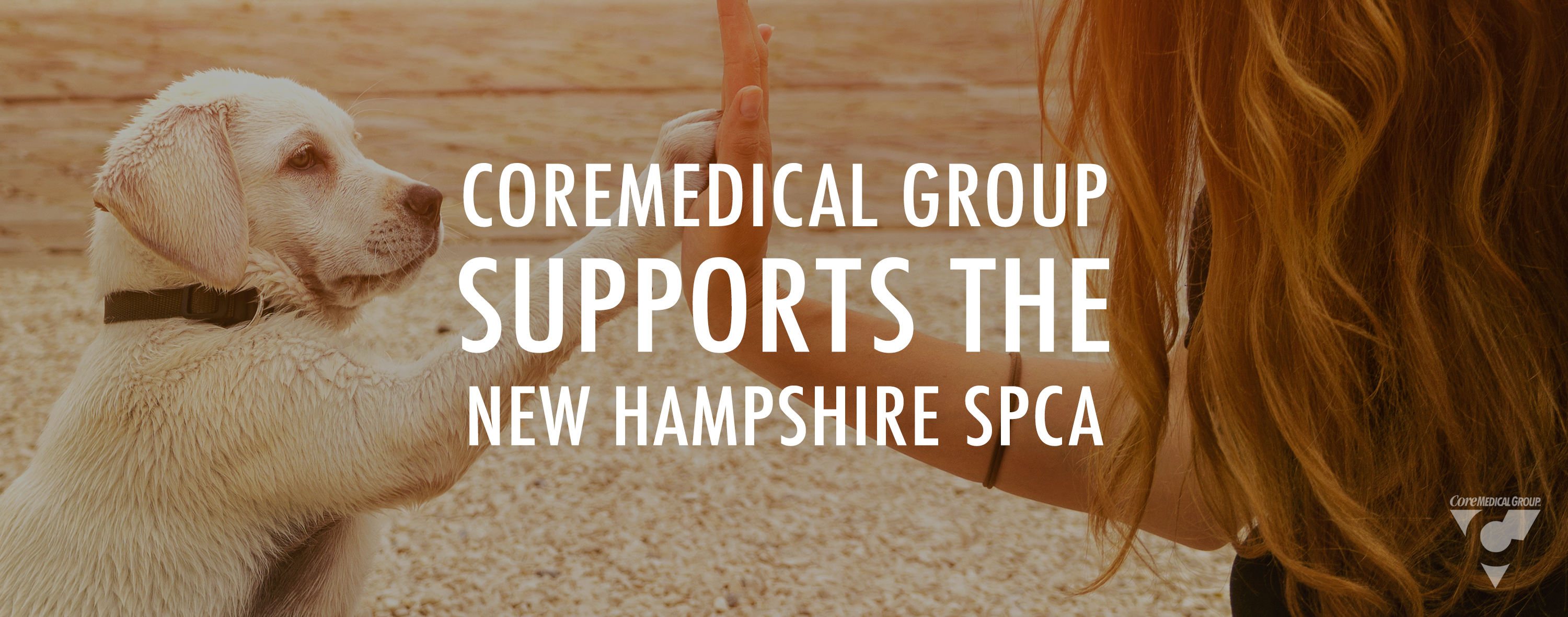 CoreMedical Group Supports The New Hampshire SPCA