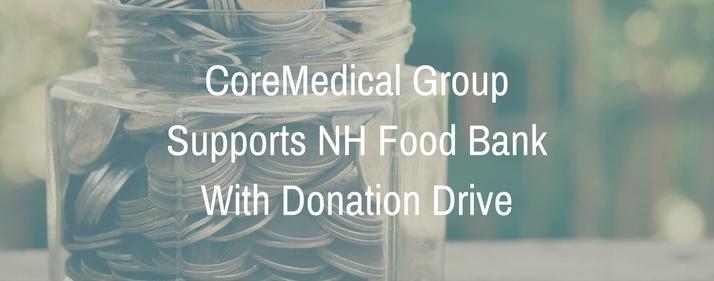 CoreMedical Group Supports NH Food BankWith Donation Drive.jpg